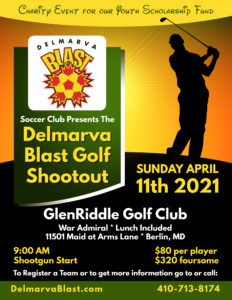 DBSC Golf Shootout Spring 2021